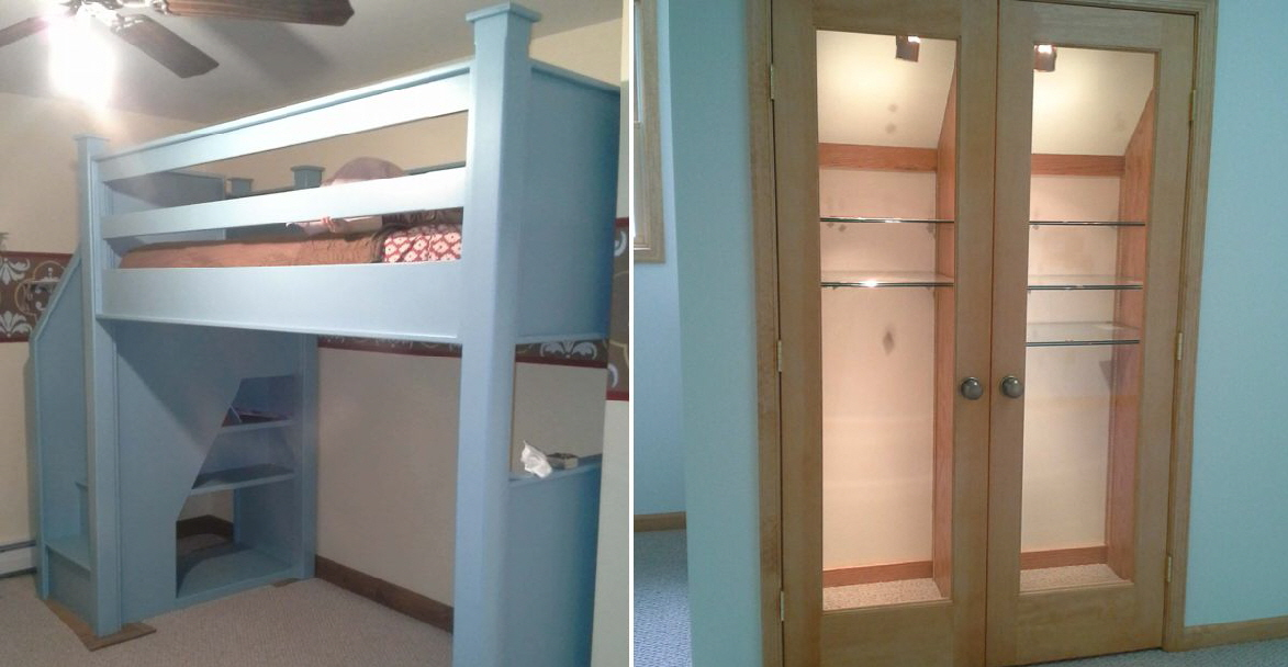 Custom bunks or custom built-in. Whatever your need, Hoffmann professionals can make it happen.